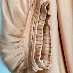 DVF silk sleeve mini dress